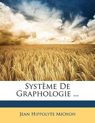 Syst�me de Graphologie  N/A edition cover