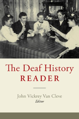 Deaf History Reader   2007 edition cover