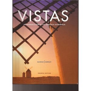 Vistas Introducci�n a la Lengua Espa�ola 4th edition cover