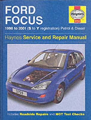 Ford Focus Service and Repair Manual (Haynes Service and Repair Manuals) N/A edition cover