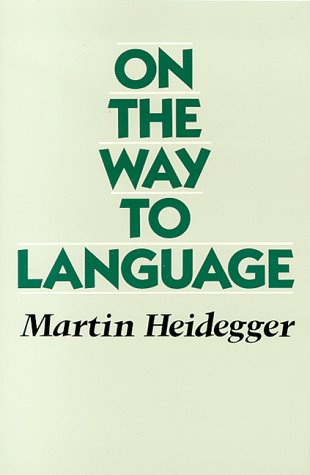 On the Way to Language  N/A edition cover