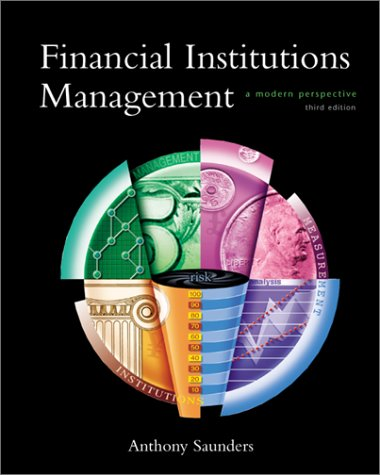 Financial Institutions Management  3rd 2000 edition cover