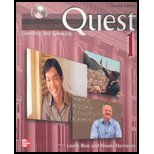 Quest Intro Listening and Speaking 2nd 2007 9780073269597 Front Cover