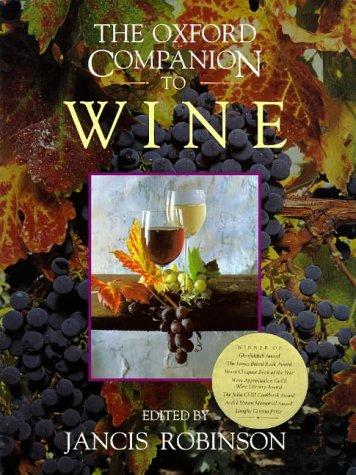 Oxford Companion to Wine   1998 edition cover