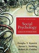 Social Psychology, Books a la Carte Edition  5th 2010 9780205750597 Front Cover
