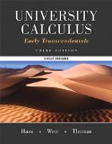 University Calculus, Early Transcendentals, Single Variable Plus MyMathLab -- Access Card Package  3rd 2016 edition cover