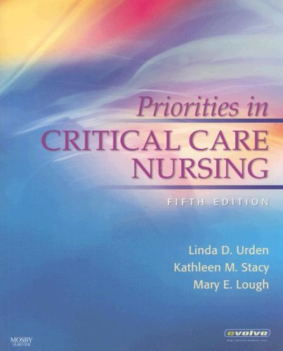 Priorities in Critical Care Nursing  5th 2008 edition cover