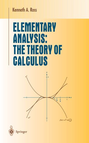 Elementary Analysis The Theory of Calculus 12th 1980 edition cover