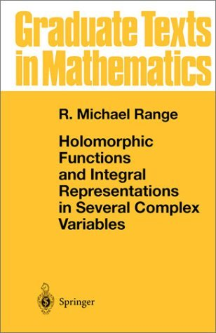 Holomorphic Functions and Integral Representations in Several Complex Variables   1986 9780387962597 Front Cover