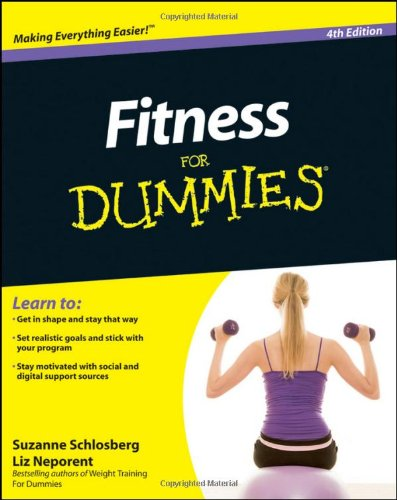 Fitness for Dummies�  4th 2011 edition cover