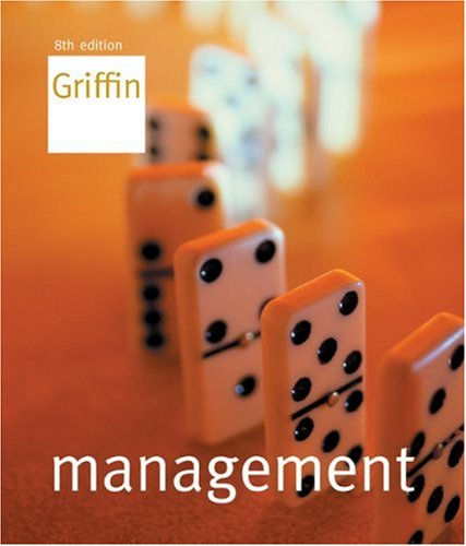 Management  8th 2005 edition cover