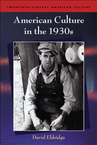 American Culture in the 1930s   2008 edition cover