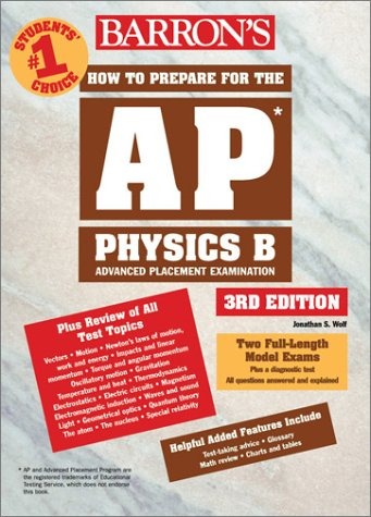 How to Prepare for the AP Physics B  3rd 2003 9780764123597 Front Cover
