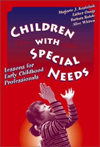 Children with Special Needs Lessons for Early Childhood Professionals  2002 9780807741597 Front Cover