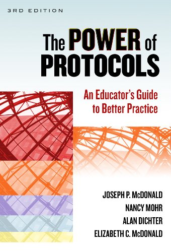 Power of Protocols An Educator's Guide to Better Practice 3rd edition cover
