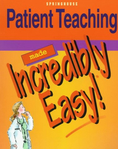 Patient Teaching   1999 edition cover