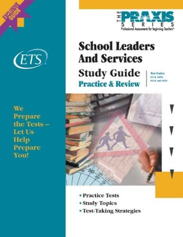 School Leaders and Services Study Guide   2003 (Student Manual, Study Guide, etc.) edition cover