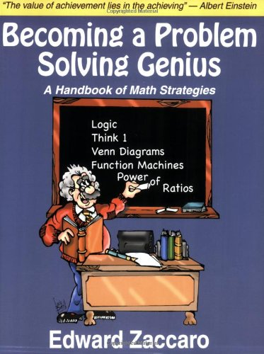 Becoming a Problem Solving Genius : A Handbook of Math Strategies  2006 edition cover