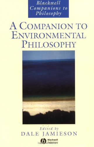 Companion to Environmental Philosophy   2003 (Reprint) 9781405106597 Front Cover