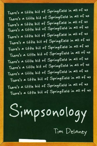 Simpsonology There's a Little Bit of Springfield in All of Us  2008 edition cover