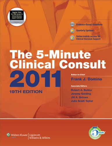 5-Minute Clinical Consult 2011  19th edition cover