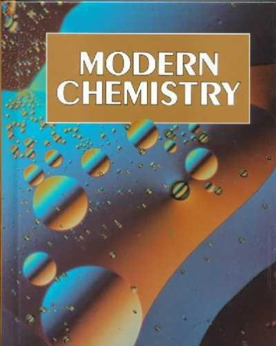 Modern Chemistry, 1993 Student Manual, Study Guide, etc. 9780030759598 Front Cover