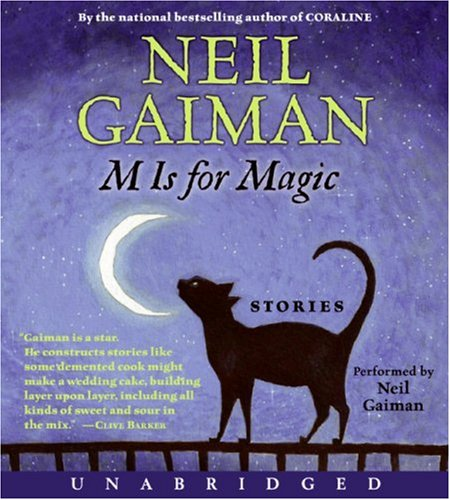M Is for Magic CD Unabridged  9780061254598 Front Cover