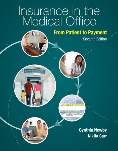 Insurance in the Medical Office From Patient to Payment 7th 2014 edition cover