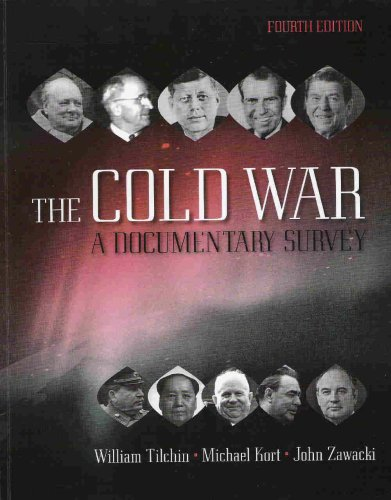 COLD WAR:DOCUMENTARY SURVEY 4th 2007 9780073387598 Front Cover