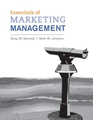 Essentials of Marketing Management 2011   2011 (Revised) edition cover