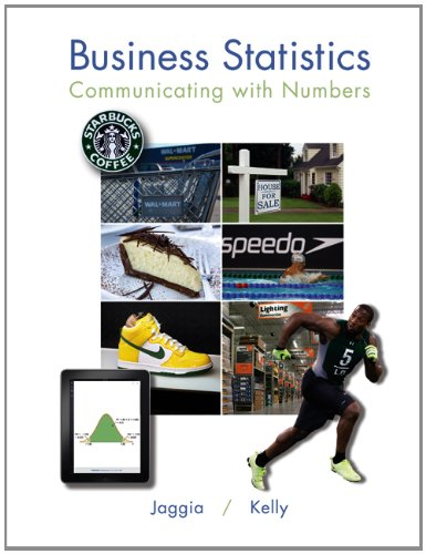 Leaf Business Statistics Communicating with Numbers  2013 edition cover