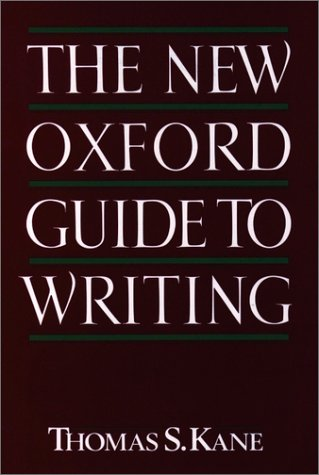New Oxford Guide to Writing   1988 (Reprint) edition cover