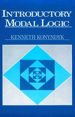 Introductory Modal Logic   1986 edition cover
