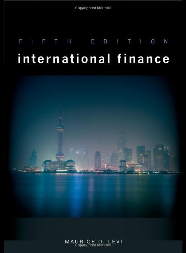 International Finance  5th 2009 edition cover