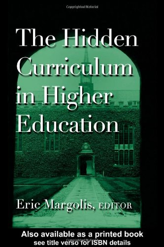 Hidden Curriculum in Higher Education   2001 edition cover