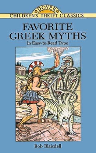 Favorite Greek Myths   1995 9780486288598 Front Cover