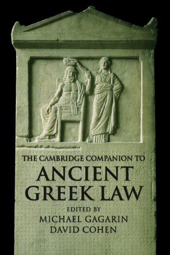 Cambridge Companion to Ancient Greek Law   2005 edition cover