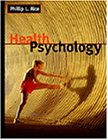 Health Psychology   1998 9780534363598 Front Cover