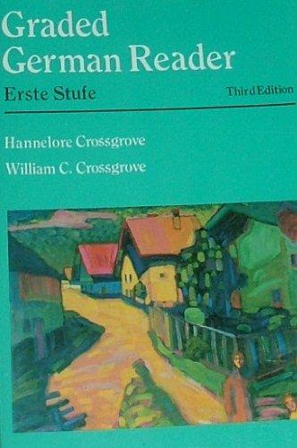 Graded German Reader Erste Stufe 3rd 1992 edition cover