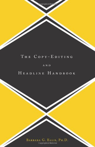 Copy Editing and Headline Handbook   2001 9780738204598 Front Cover