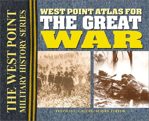 West Point Atlas for the Great War  N/A edition cover