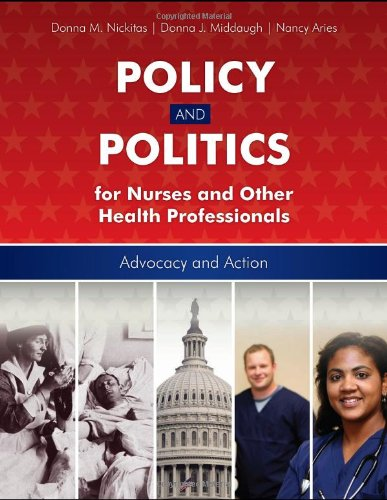 Policy and Politics for Nurses and Other Health Professionals   2011 (Revised) edition cover