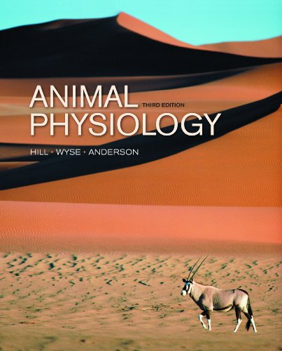 Animal Physiology  3rd 2012 edition cover
