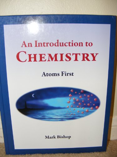 Introduction to Chemistry - Atoms First  2008 edition cover