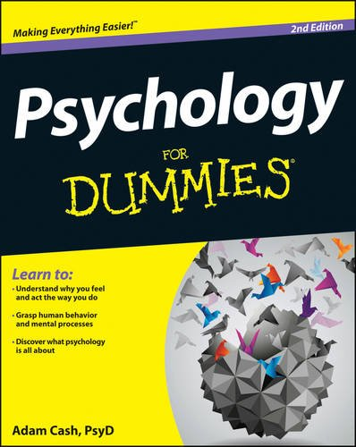 Psychology for Dummies�  2nd 2013 edition cover