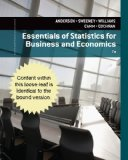 Essentials of Statistics for Business and Economics  7th 2015 edition cover