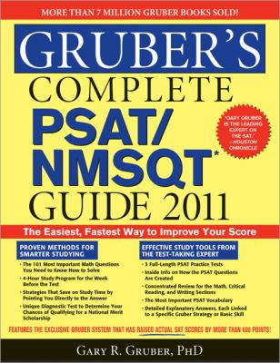 Gruber's COMPL PSAT/NMSQT Guide 2011   2010 9781402238598 Front Cover