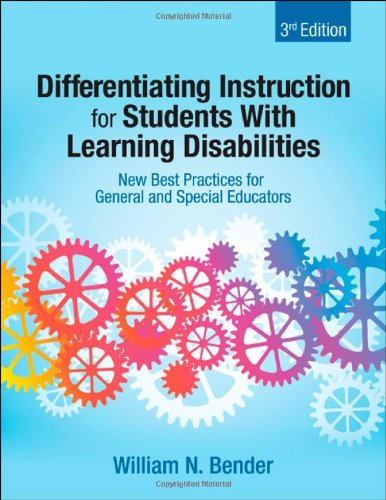 Differentiating Instruction for Students with Learning Disabilities New Best Practices for General and Special Educators 3rd 2012 edition cover
