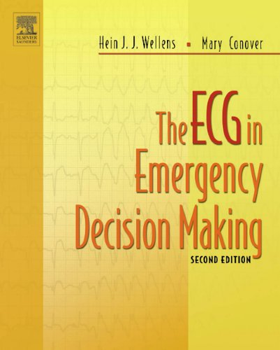 ECG in Emergency Decision Making  2nd 2006 edition cover