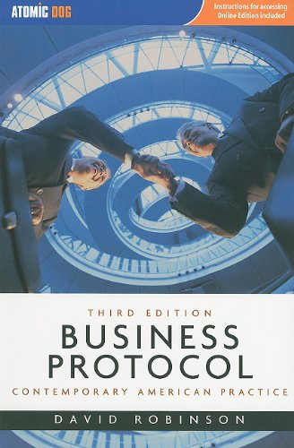 Business Protocol Contemporary American Practice 3rd 2010 (Revised) 9781424076598 Front Cover